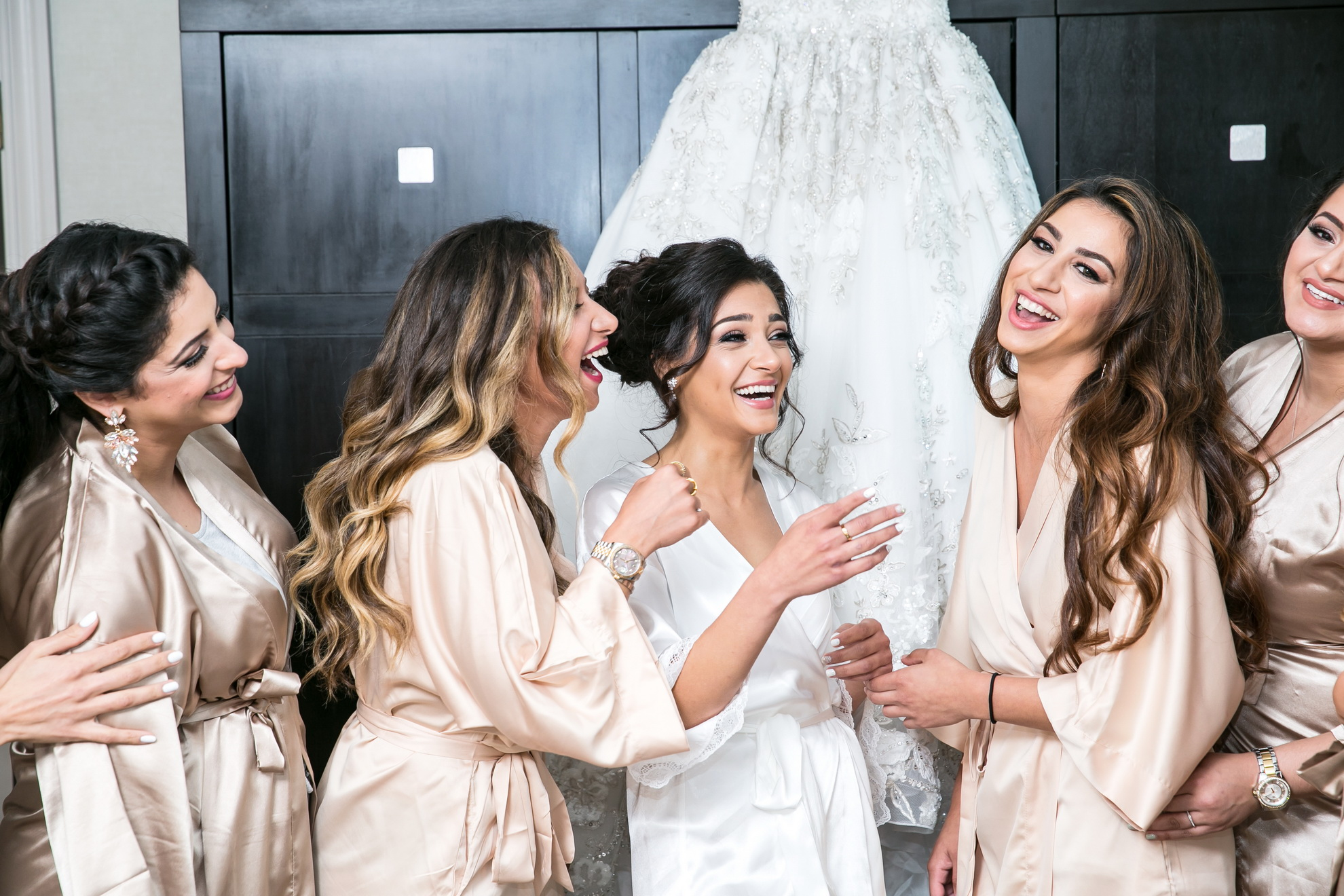 bridesmaids westfield marriott dulles wedding