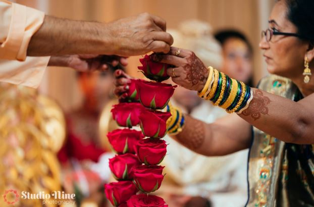 The Varmala in Indian Weddings Washington DC