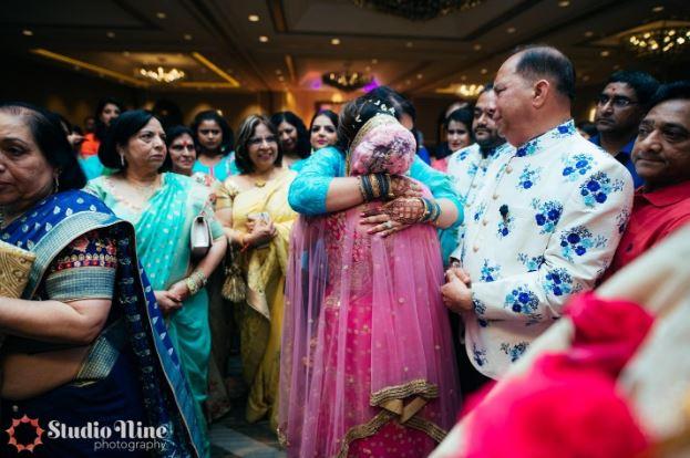 Why do brides cry during Vidaai