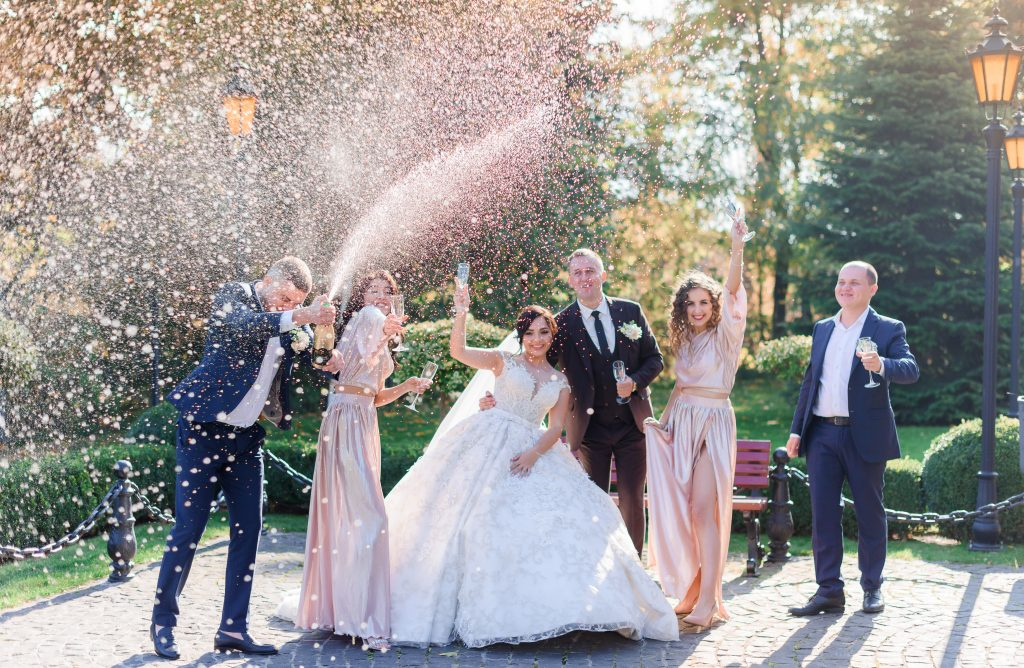 Ideas for your wedding exit